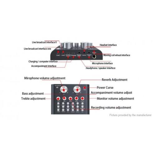 V8 Audio External USB ΜΙΚΤΕΣ