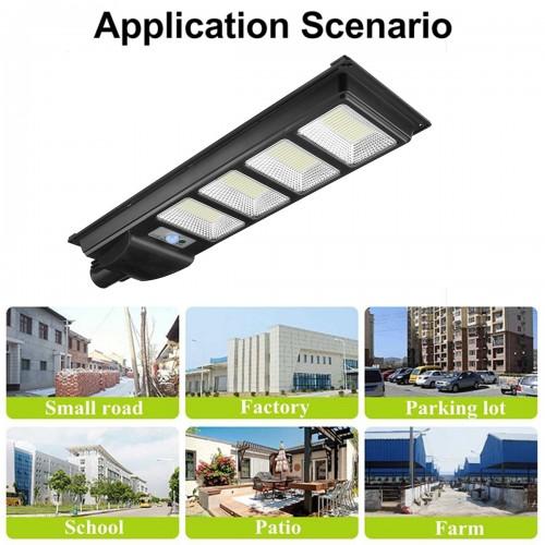 120W Solar Street Light